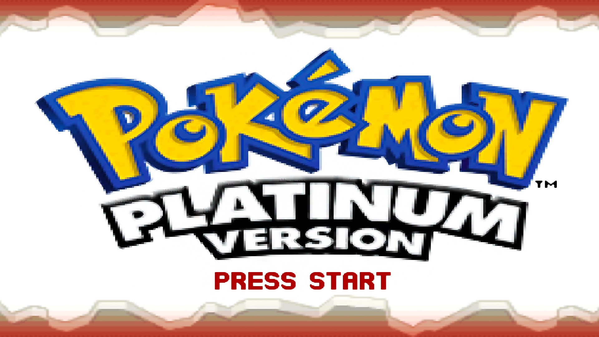 pokemon platinum opening